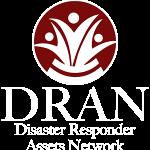 Disaster Responder Assets Network White Logo